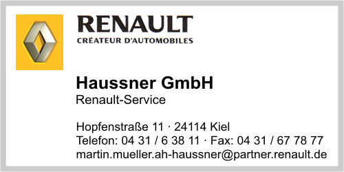 Haussner GmbH · Renault-Service