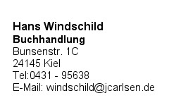 Windschild, Hans